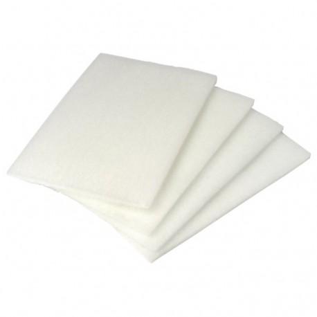 "White non-scratch scrub pad (9"" x 6"")"