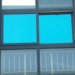 Blue Mirror Window Film 5%